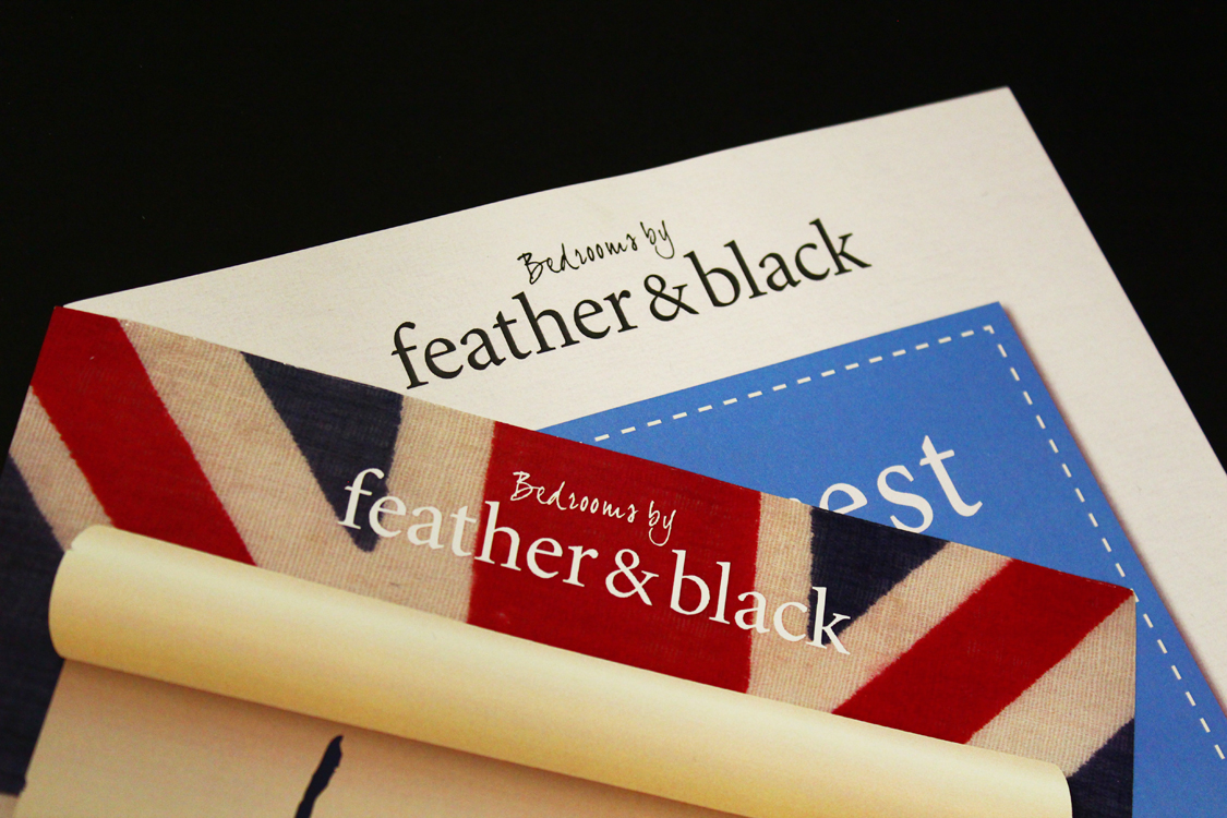 Feather &  Black Poster